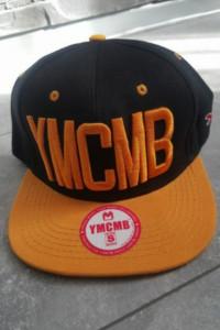 YMCMB Snapback Czapka Black Yellow...