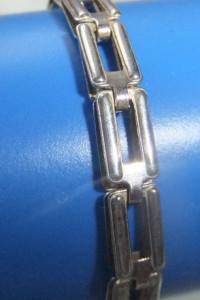 gruby srebrny łańcuszek ciekawy splot jubiler 925...