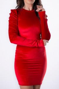 Sukienka welurowa czerwień Wyprzedaż...
