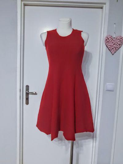 Suknie i sukienki Wełniana czerwona sukienka
