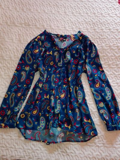 Bluzki YUMI bluzka ptaszki rozmiar 42 XL