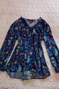 YUMI bluzka ptaszki rozmiar 42 XL