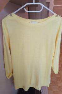 Śliczny żółty sweterek rozmiar 38