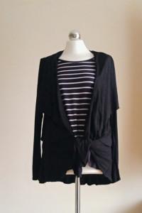 Bluzka w paseczki bawełniana XL Betty & Co