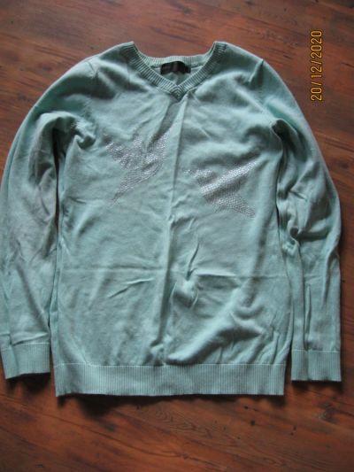 Swetry Mietowy sweterk rozmiar 38