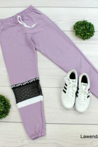 Spodnie dresowe siatka