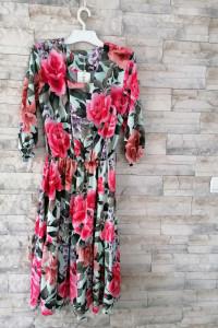 Sukienka boho kwiaty...