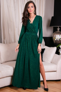 227 zielona sukienka maxi 34 36 38 40 42 44 kolory...