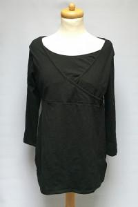 Bluzka H&M Mama Czarna Do Karmienia L 40 Rękaw 3 4...