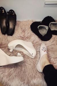 Używane buty fetysz balerinki kapcie trampki dla fetyszysty zap...