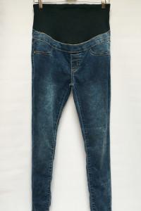 Spodnie Ciążowe Rurki Boohoo S 36 Dzinsowe Mama Jeans...