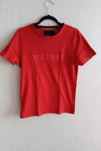 Koszulka diverse czerwona