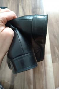 Kozaki Lasocki czarne ciepłe szeroka nogawka 40 bdb...