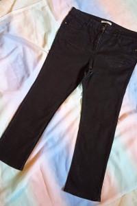 Czarne spodnie George...