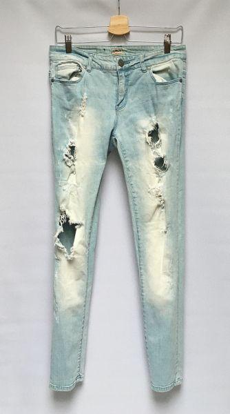 Spodnie Spodnie Rurki Dzinsowe Only Dziury 30 32 M 38 Jeansy
