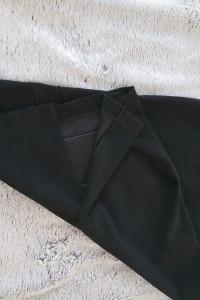 Spódnica aksamit jak nowa z rozcięciem M