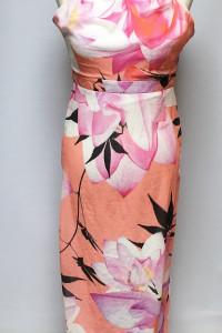 Sukienka S 36 Lipsy London Kwiaty Długa Nowa Long Maxi...