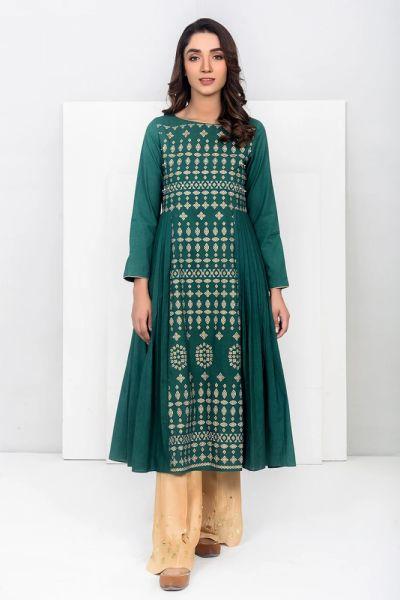 Suknie i sukienki Nowa indyjska tunika sukienka S 36 M 38 zielona butelkowa zieleń głęboka bawełniania handmade kurta kameez etno boho hippie
