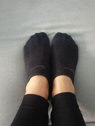 Skarpetki Używane stopki Nike