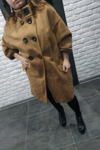Płaszcz damski wełniany oversize retro vintage Rozmiar l l wallis