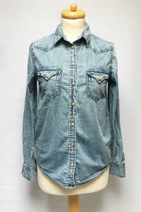 Koszula Dzinsowa Jeansowa Mango S 36 Dzins Jeans...