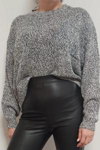 Luźny sweter szary H&M rozm 38...