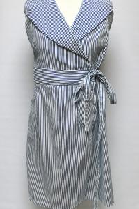 Sukienka Pasy Kopertowa M 38 Marynarska Paseczki...