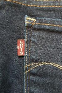 Levis oryginalne spodnie jeansy 28stan jak nowedemi curve skinn...