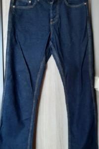 Bershka proste jeansy straight niebieskie M 38 męskie
