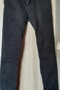H&M spodnie czarne jeansy męskie slim fit 30...