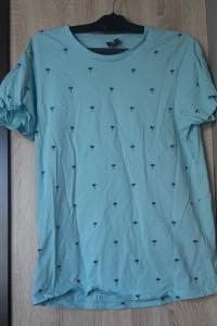 New Yorker FSBN koszulka niebieska męska palmy S...