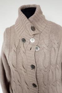 Kardigan sweter rozpinany angora kaszmir...