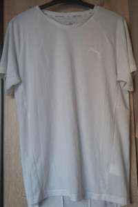 Puma koszulka biała męska L...