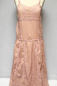 Sukienka NOWA Brudny Róż L 40 Frock And Frill Różowa Long Maxi...