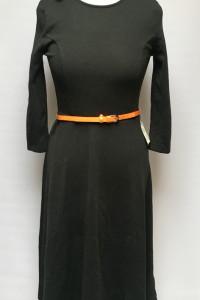 Sukienka Czarna Asos NOWA M 38 Rozkloszowana...