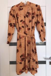 Sukienka w kwiaty M L 38 40