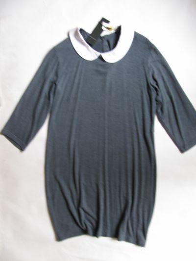 Suknie i sukienki VERO MODA NOWA NIEBIESKA SUKIENKA DZIANINA 42 44