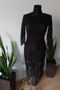 Sukienka koronkowa Liu Jo przezroczysta