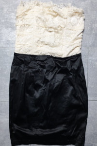 Amisu śliczna sukienka koronka rozm 36...