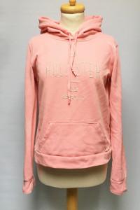 Bluza Różowa Neonowa Hollister M 38 Kangurka...