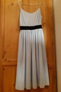 Sukienka błękitna ZARA