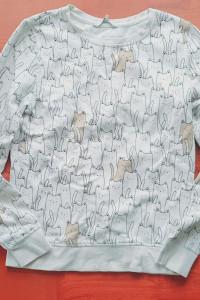 Bluza koty C&A XS