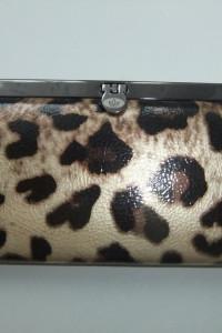 nowy portfel damski panterka piękny i praktyczny damski