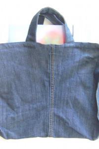 dżinsowa torba na zakupy...
