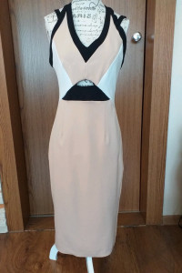 Sukienka suknie elegancka nietuzinkowa River Island 12...