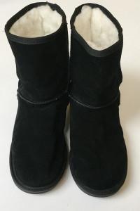 Buty Emu Wool Czarne 39 25 cm Wełniane Wełna Botki Kozaki...
