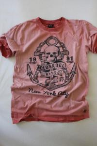 bawełniana koszulka z nadrukiem L