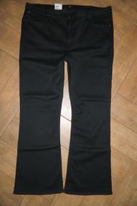Lee BOOTCUT Plus spodnie stretch deluxe roz W44L33