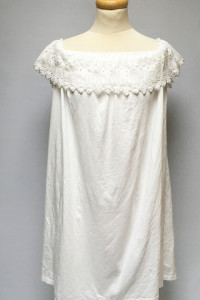Sukienka NOWA Biała Hiszpanka Ażurowa L 40 Asos...