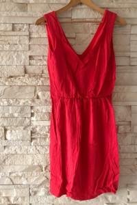 Czerwona sukienka sinsay S 36...